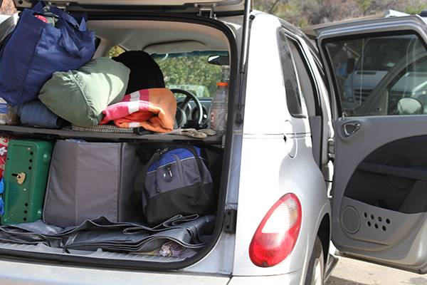 Living-in-a-PT-Cruiser-Camper-Making-a-Bed-and-Conversion